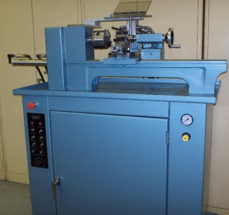 Tensilathe/505 semi-automatic tensile sample turning machine