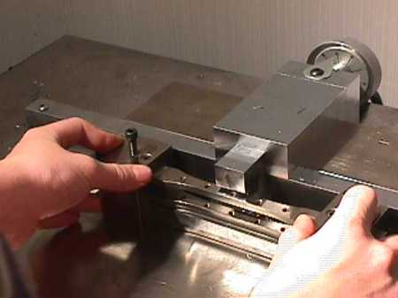 Tensilkut for cutting samples in accordance with ASTM E8 for tensile testing of metals.