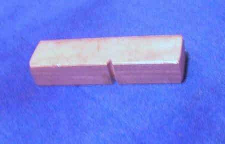 ASTM A370 Impact specimen from aluminum