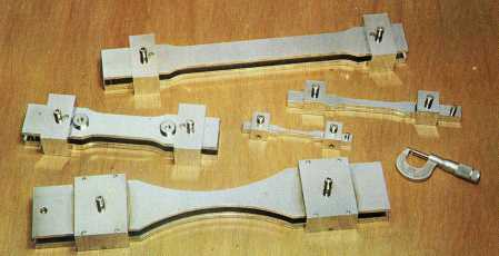 Large and small special Master Templates for use with the Tensilkut I or Tensilkut II.